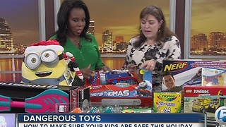 Dangerous Toys: How to make sure your kids are safe this holiday