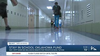 Stay in School Oklahoma Fund