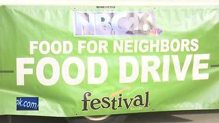 Thanks to all who donated to the Food for Neighbors and Paw Away Hunger programs - Video