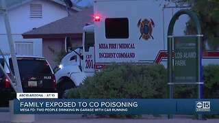 FD: Mesa family hospitalized after carbon monoxide poisoning