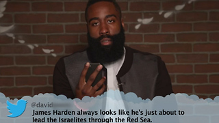 James Harden & DeAndre Jordan Read Mean Tweets - Video