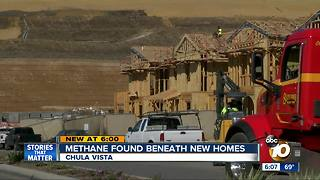 Methane found beneath housing development - Video