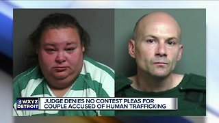 Two charged in human trafficking case after 29-year-old woman kept in shed