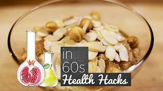 Health hacks: Amped up Oatmeal - Video