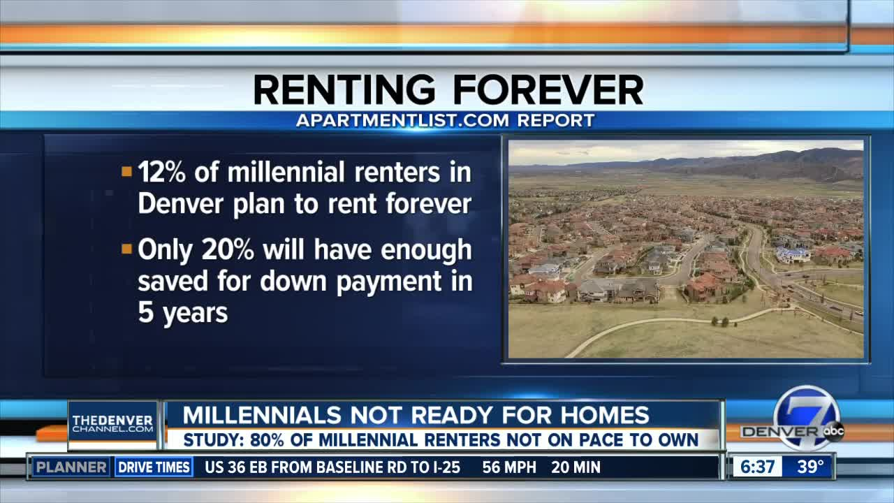 Millennials can't afford to buy homes