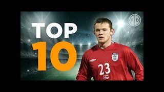 Top 10 England Goalscorers - Video