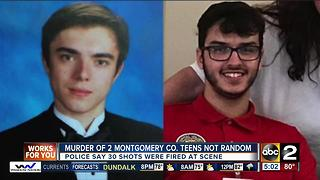 Murder of Montgomery County teens determined not random by police