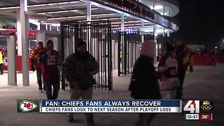 Chiefs fans see playoff dreams dashed - Video