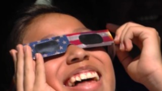 Storm Grove Middle School students learn about solar eclipse