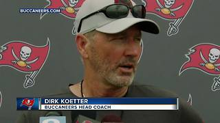 Tampa Bay Buccaneers wrap up two days of joint practices with Tennessee Titans