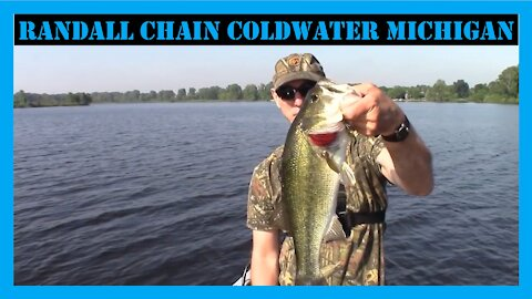 Randall Chain Coldwater Michigan Bass Fishing