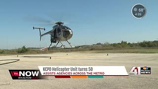 KCPD Helicopter Unit celebrating 50 years - Video