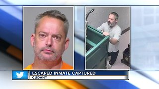 Escaped inmate captured