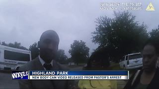 Body camera footage shows moments leading to controversial arrest of Detroit preacher - Video