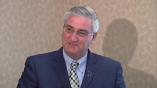 Gov. Eric Holcomb announces expansion of the state's opioid treatment program - Video