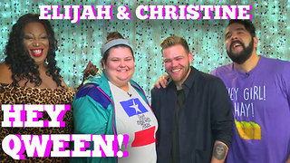 Elijah Daniel & Christine Sydelko on Hey Qween! PROMO - Video