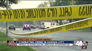 KCPD embeds social worker in department - Video