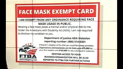 Fake face mask exempt cards being used in Palm Beach County to defy ordinance