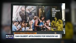 Dan Gilbert apologizes for controversial graphic on Detroit building - Video