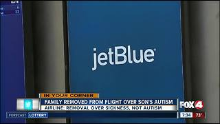 Family Removed from flight over Autism - Video