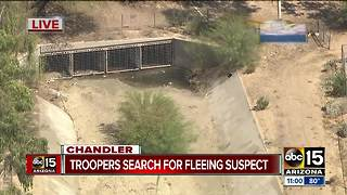 Troopers searching for suspect in Chandler - Video