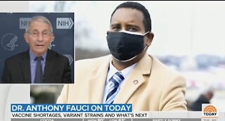 Dr. Fauci says that wearing two masks is better than one