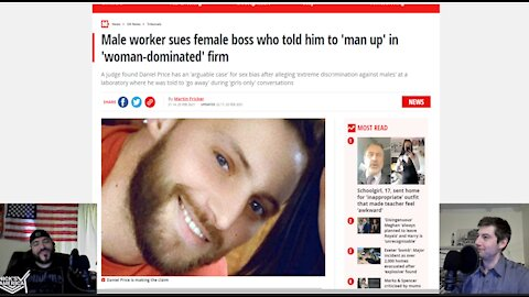 Male Scientist Suing Female Boss Who Allegedly Told Him To 'Man Up'