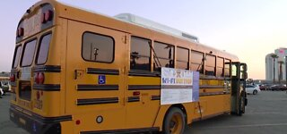 Wi-Fi bus stops throughout Clark County