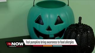 Teal pumpkins bring awareness to food allergies - Video
