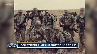 Local veteran shares his story to help others