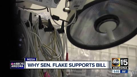 Senator Flake says he supports Obamacare repeal