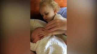 Did You Just Wipe Your Germs On The Baby? - Video