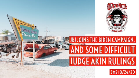 JBJ Joins The Biden Campaign, And Some Difficult Judge Akin Rulings