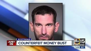 Scottsdale man accused of making fake money - Video