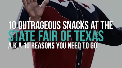 10 Outrageous Snacks at the State Fair of Texas