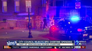 City Council rejects Baltimore Police overtime spending