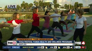 Yoga Festival Naples fundraises for youth health and wellness programs - 7:30am live report