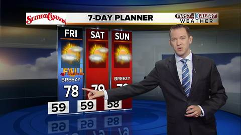 13 First Alert Weather for September 20 2017