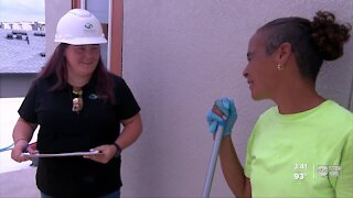 Female construction project manager trying to break stereotypes, start new trend