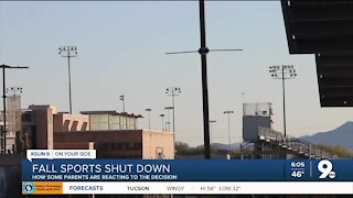 Tucson-area parents say they want county to allow students to play four more games during fall sports season