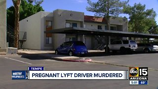 Lyft rider arrested in killing of pregnant driver in Tempe