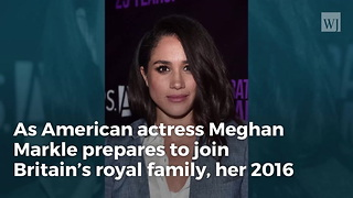 Meghan Markle's Comments About Trump Resurface Following Engagement to Prince Harry - Video