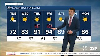 23ABC Evening weather update April 26, 2021