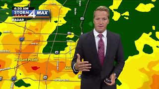 Flash Flood Warning for Kenosha County until 7:15 a.m. - Video