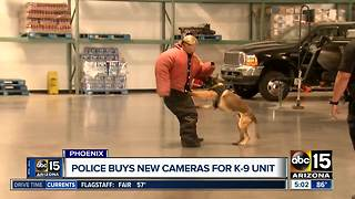 New technology for Phoenix K-9 unit - Video