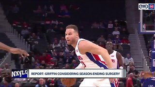 Blake Griffin reportedly considering season-ending surgery