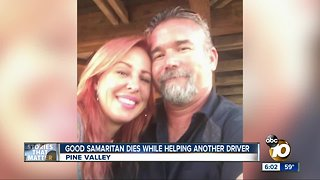 Good Samaritan dies helping another driver