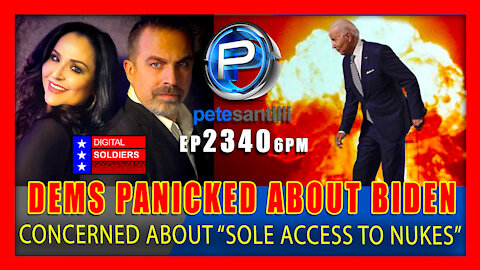 EP 2340-6PM Dems Panicked About Joe Biden's Sole Access To Nukes...Wonder Why…