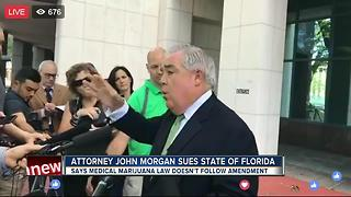 John Morgan suing FL for marijuana restrictions - Video