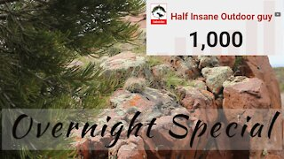 1 THOUSAND youtube subscriber Special Overnighter!